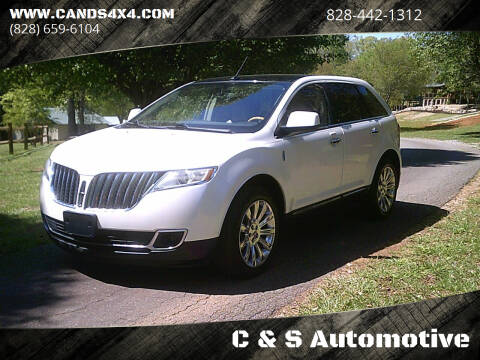 2011 Lincoln MKX for sale at C & S Automotive in Nebo NC