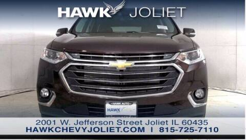 2021 Chevrolet Traverse for sale at Hawk Chevrolet of Bridgeview in Bridgeview IL