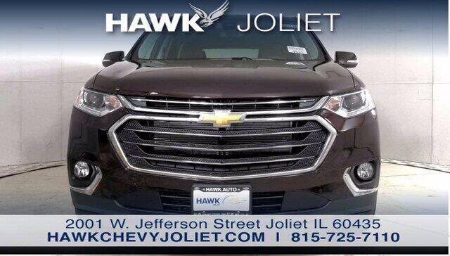 2021 Chevrolet Traverse for sale at Hawk Chevrolet of Bridgeview in Bridgeview IL