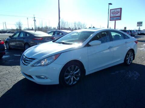2012 Hyundai Sonata for sale at DAVE KNAPP USED CARS in Lapeer MI