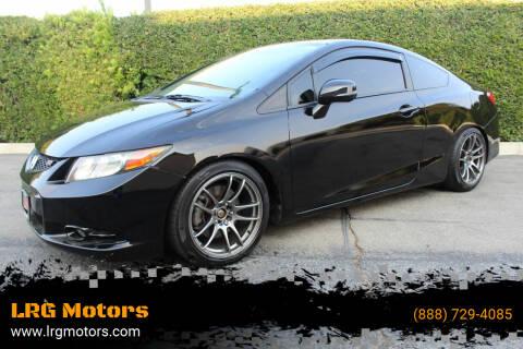 2012 Honda Civic for sale at LRG Motors in Montclair CA