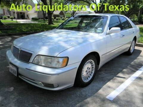 1999 Infiniti Q45 for sale at AUTO LIQUIDATORS OF TEXAS in Richmond TX