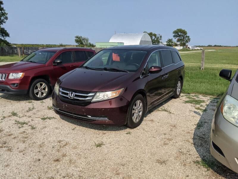 2015 Honda Odyssey for sale at Halstead Motors LLC in Halstead KS