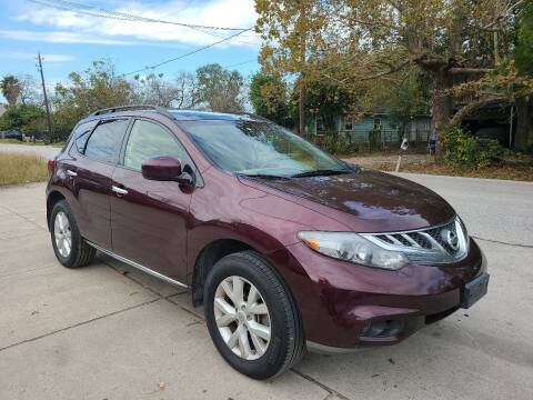 2013 Nissan Murano for sale at G&J Car Sales in Houston TX