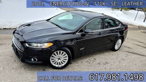 2013 Ford Fusion Energi for sale at Wheeler Dealer Inc. in Acton MA