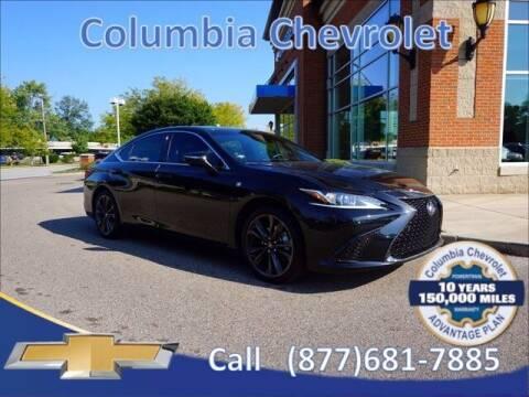 2021 Lexus ES 350 for sale at COLUMBIA CHEVROLET in Cincinnati OH