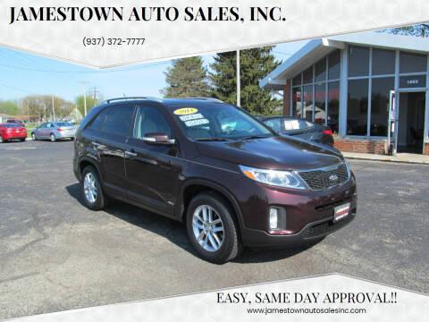 2014 Kia Sorento for sale at Jamestown Auto Sales, Inc. in Xenia OH