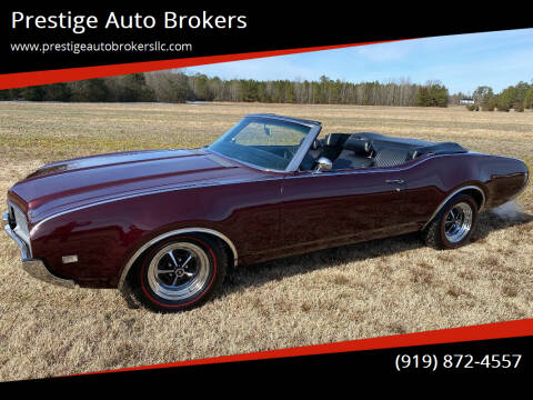 1969 Oldsmobile Cutlass Supreme for sale at Prestige Auto Brokers in Raleigh NC