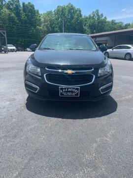 2015 Chevrolet Cruze for sale at RHK Motors LLC in West Union OH