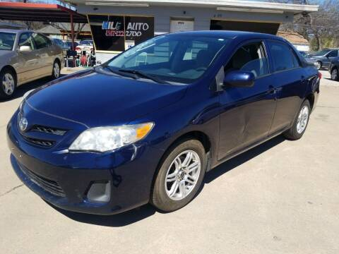2013 Toyota Corolla for sale at Nile Auto in Fort Worth TX