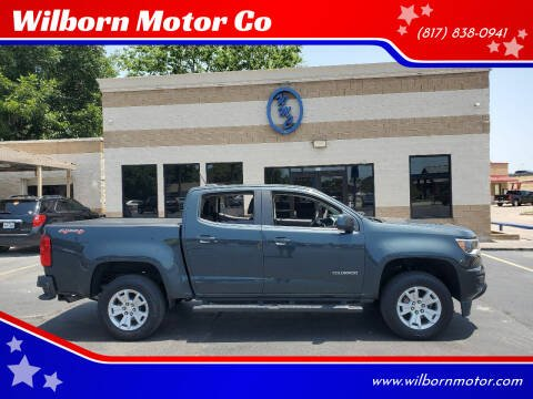 2018 Chevrolet Colorado for sale at Wilborn Motor Co in Fort Worth TX