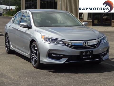2017 Honda Accord for sale at RAVMOTORS 2 in Crystal MN
