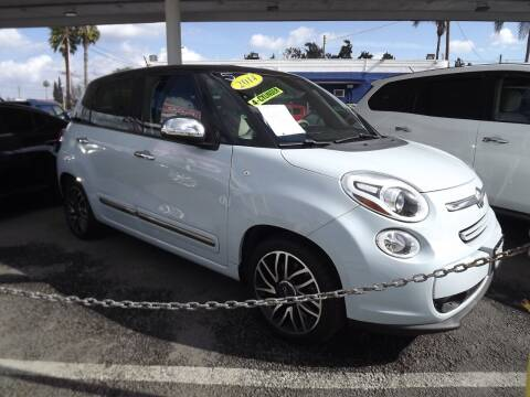 2014 FIAT 500L for sale at PACIFICO AUTO SALES in Santa Ana CA