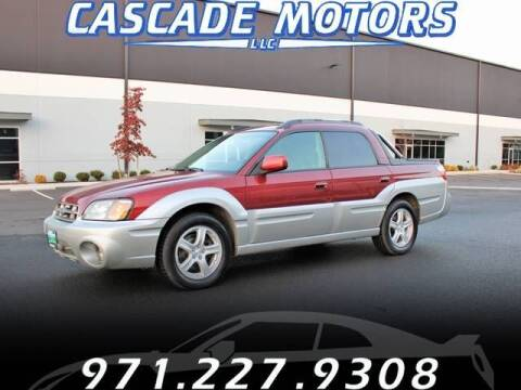 2003 Subaru Baja for sale at Cascade Motors in Portland OR