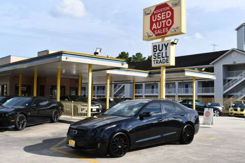 2017 Cadillac ATS for sale at Houston Used Auto Sales in Houston TX