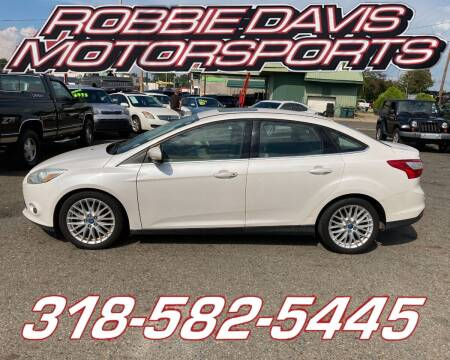 2012 Ford Focus for sale at Robbie Davis Motorsports in Monroe LA