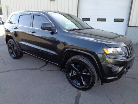 2015 Jeep Grand Cherokee for sale at BETTER BUYS AUTO INC in East Windsor CT