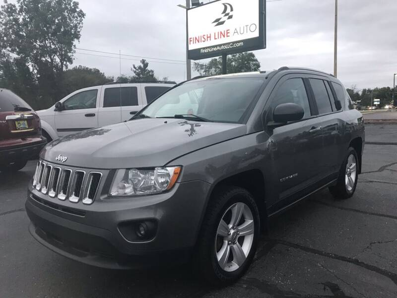 2012 Jeep Compass for sale at Finish Line Auto in Comstock Park MI