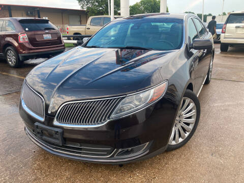 2013 Lincoln MKS for sale at ANF AUTO FINANCE in Houston TX