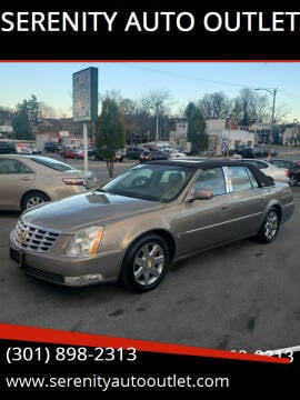 2007 Cadillac DTS for sale at SERENITY AUTO OUTLET in Frederick MD