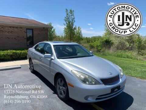 2005 Lexus ES 330 for sale at IJN Automotive Group LLC in Reynoldsburg OH