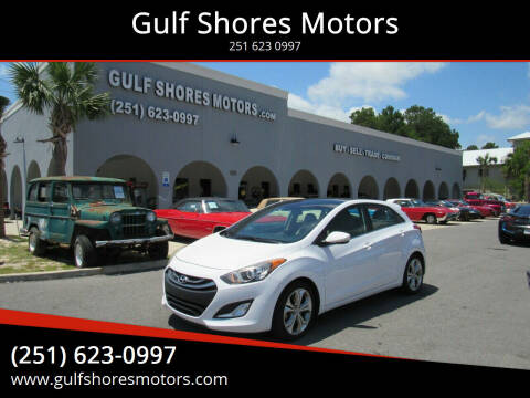 2013 Hyundai Elantra GT for sale at Gulf Shores Motors in Gulf Shores AL