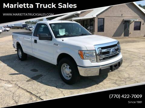 2014 Ford F-150 for sale at Marietta Truck Sales in Marietta GA