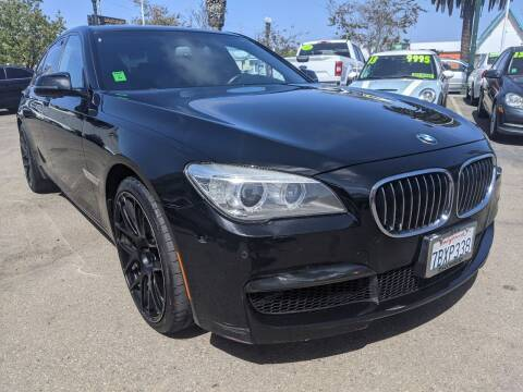 2013 BMW 7 Series for sale at Convoy Motors LLC in National City CA