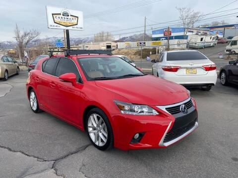 2014 Lexus CT 200h for sale at CarSmart Auto Group in Murray UT