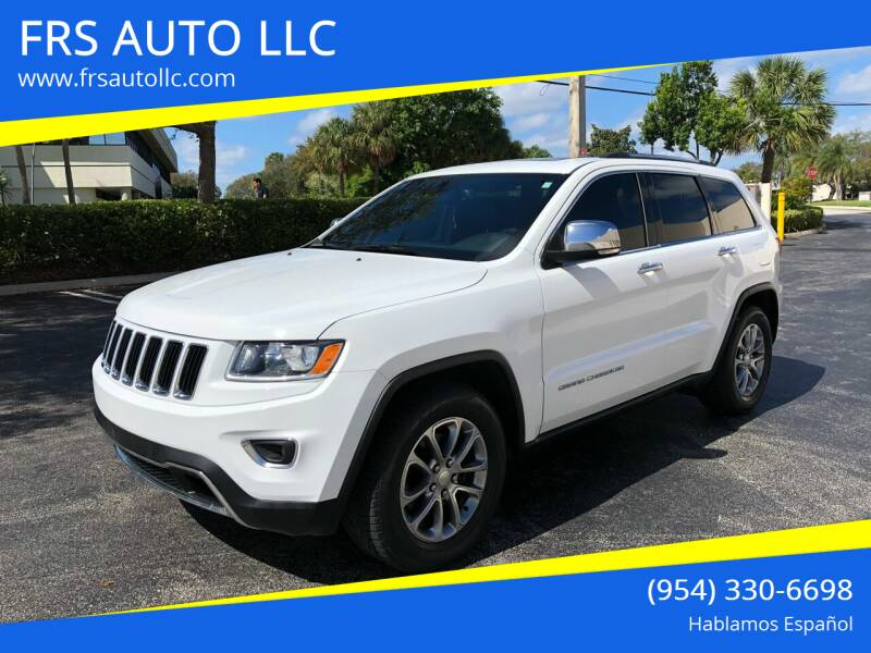 2016 Jeep Grand Cherokee for sale at FRS AUTO LLC in West Palm Beach FL