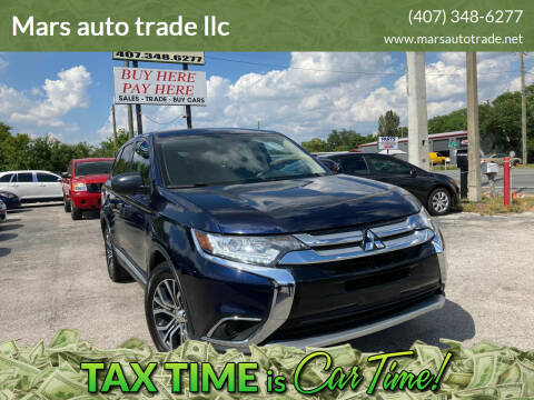2017 Mitsubishi Outlander for sale at Mars auto trade llc in Kissimmee FL