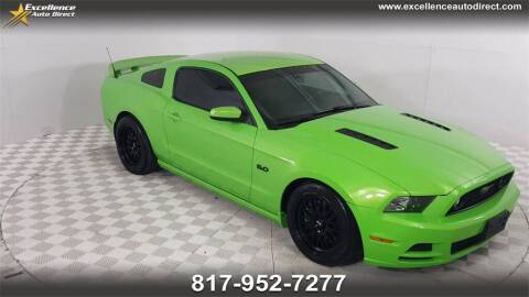 2013 Ford Mustang for sale at Excellence Auto Direct in Euless TX