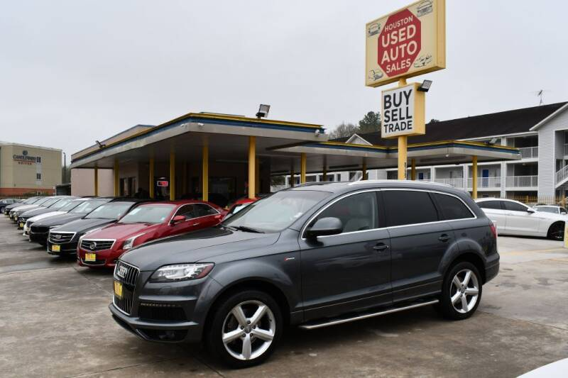 2012 Audi Q7 for sale at Houston Used Auto Sales in Houston TX