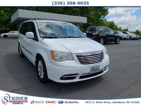 2014 Chrysler Town and Country for sale at STRIDER BUICK GMC SUBARU in Asheboro NC