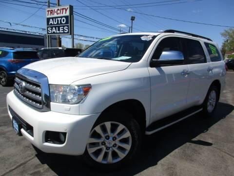 2014 Toyota Sequoia for sale at TRI CITY AUTO SALES LLC in Menasha WI