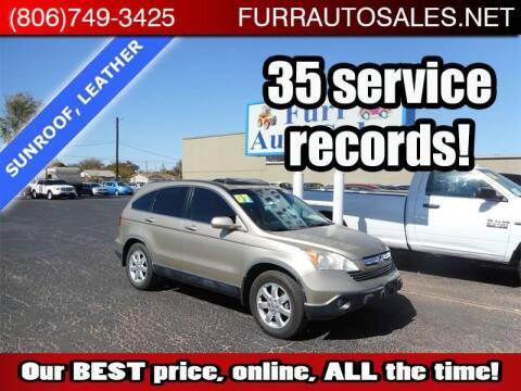 2007 Honda CR-V for sale at FURR AUTO SALES in Lubbock TX