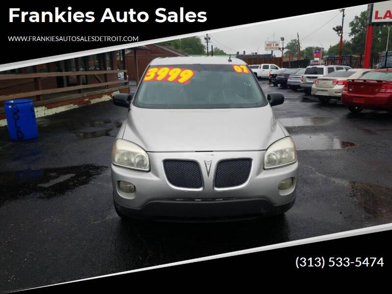 2007 Pontiac Montana SV6 for sale in Detroit, MI