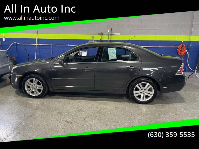 2007 Ford Fusion for sale at All In Auto Inc in Addison IL