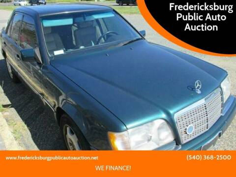 1995 Mercedes-Benz E-Class for sale at FPAA in Fredericksburg VA