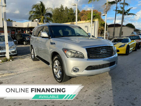 2011 Infiniti QX56 for sale at Global Auto Sales USA in Miami FL