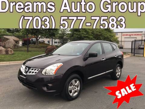 2013 Nissan Rogue for sale at Dreams Auto Group LLC in Sterling VA