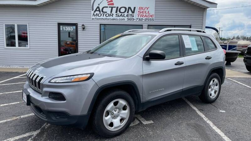 2017 Jeep Cherokee for sale at Action Motor Sales in Gaylord MI