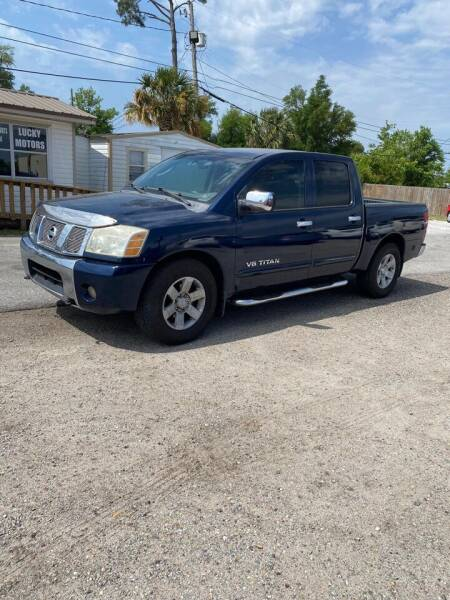 2007 Nissan Titan for sale at Lucky Motors in Panama City FL