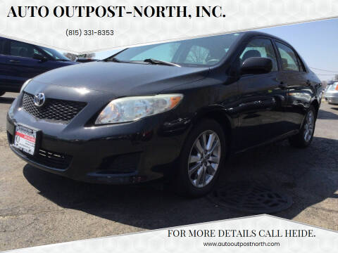 2009 Toyota Corolla for sale at Auto Outpost-North, Inc. in McHenry IL