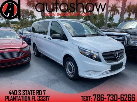 2019 Mercedes-Benz Metris for sale at AUTOSHOW SALES & SERVICE in Plantation FL