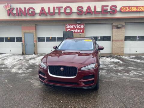 2017 Jaguar F-PACE for sale at KING AUTO SALES  II in Detroit MI
