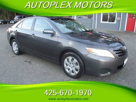 2010 Toyota Camry for sale at Autoplex Motors in Lynnwood WA