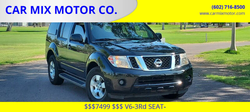 2010 Nissan Pathfinder for sale at CAR MIX MOTOR CO. in Phoenix AZ