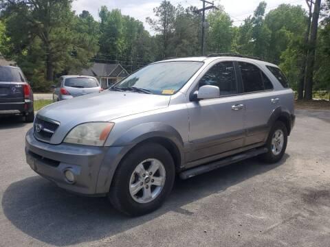 2004 Kia Sorento for sale at Tri State Auto Brokers LLC in Fuquay Varina NC