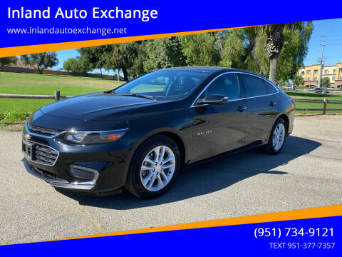 2017 Chevrolet Malibu for sale at Inland Auto Exchange in Norco CA